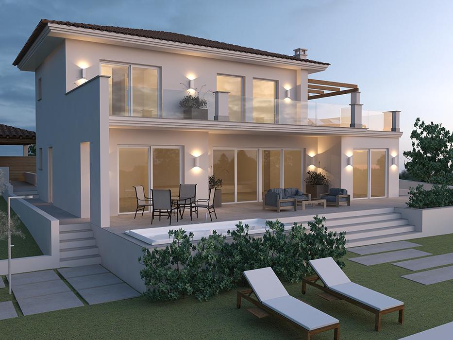 Εξοχική κατοικία στην Αίγινα