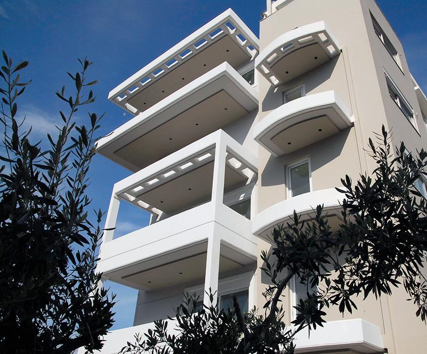 Πολυκατοικία στο Π. Φάληρο