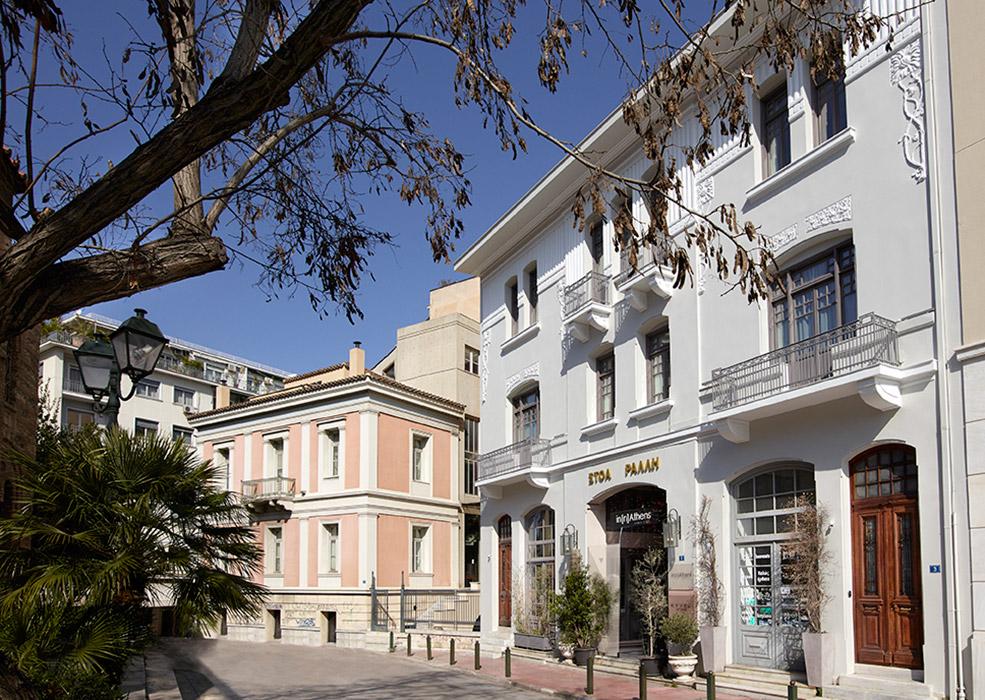 Ανακατασκευή διατηρητέου κτιρίου στο ξενοδοχείο in[n]Athens (Προσθήκη)